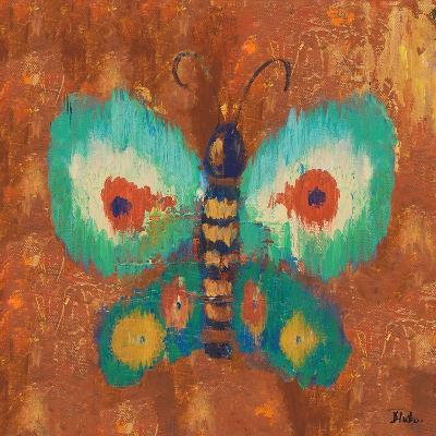 Ikat Flutter Square II-Patricia Pinto-Art Print