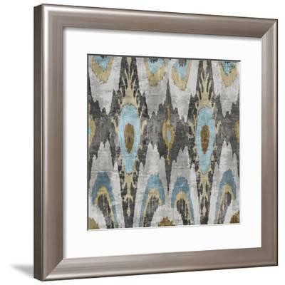 Ikat II-Tania Bello-Framed Giclee Print