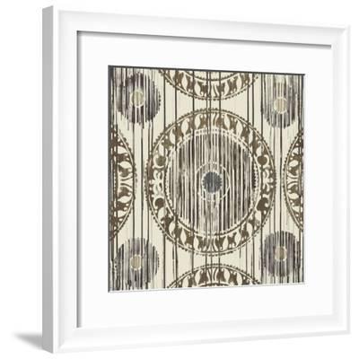 Ikat-Liz Jardine-Framed Art Print