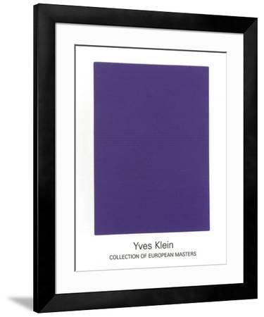 IKB65, 1960-Yves Klein-Framed Serigraph