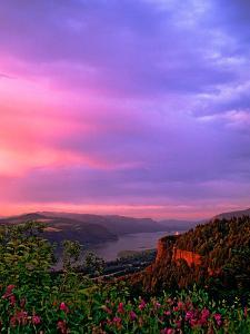Columbia River Gorge IX by Ike Leahy