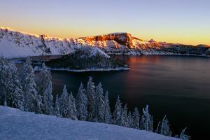 Crater Lake II by Ike Leahy