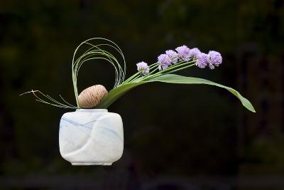Ikebana, the Art of Flower Arrangement--Photographic Print