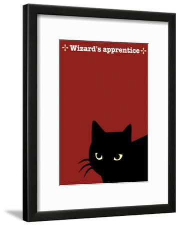 Black Cat in Red