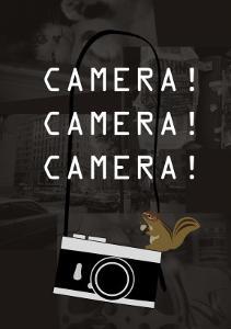 Camera Brown by Ikuko Kowada