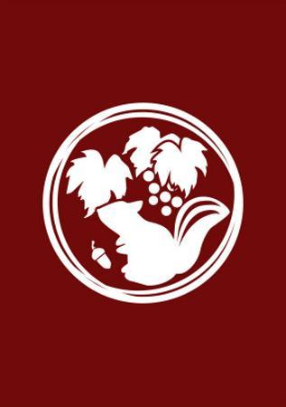 Family Crest Style Burgundy by Ikuko Kowada