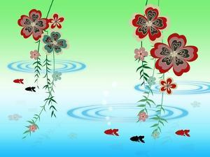 Goldfishes in the Morning by Ikuko Kowada