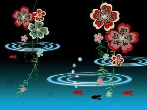 Goldfishes in the Night by Ikuko Kowada