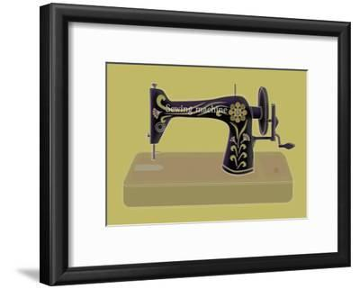 Sewing Machine in Yellow