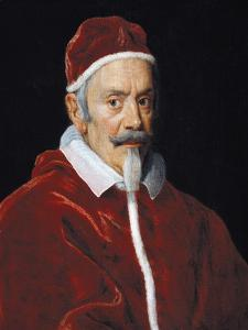 Portrait of Pope Clement X by Il Baciccio