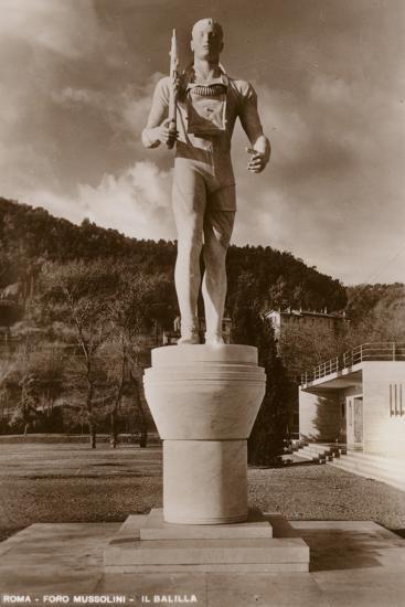 Il Balilla, Foro Mussolini, Rome--Photographic Print