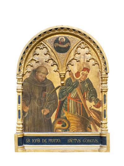 Il Beato Giovanni Da Prato E San Giorgio--Giclee Print