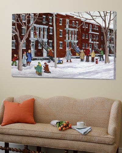 Il parait que l'hiver sera long-Nicole Laporte-Loft Art