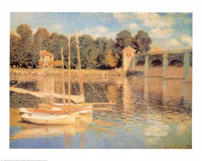 Il Pont d'Argenteuil-Claude Monet-Art Print