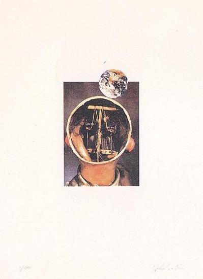 Il sole nero (dal mondo degli automi)-Giulio Paolini-Limited Edition
