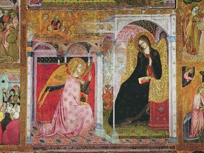 The Annunciation, Fresco from the Porziuncola, 1393