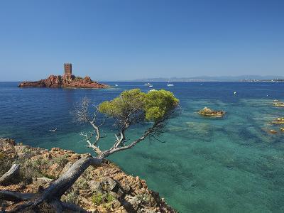 Ile D´Or at Corniche De L´Esterel, Cote D´Azur Provence-Alpes-Cote D'Azur, France-Katja Kreder-Photographic Print
