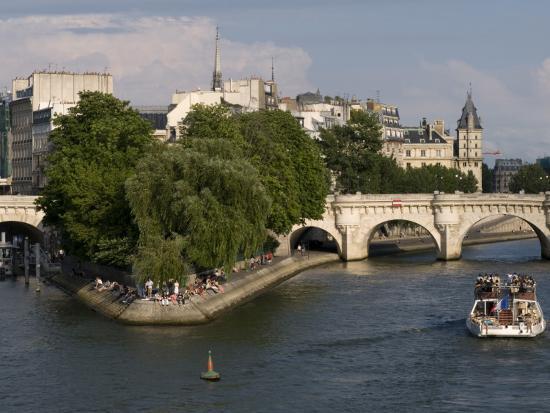 Ile De La Cite, Paris, France-Sergio Pitamitz-Photographic Print