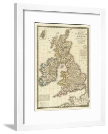 Iles Britanniques, c.1828-Adrien Hubert Brue-Framed Art Print