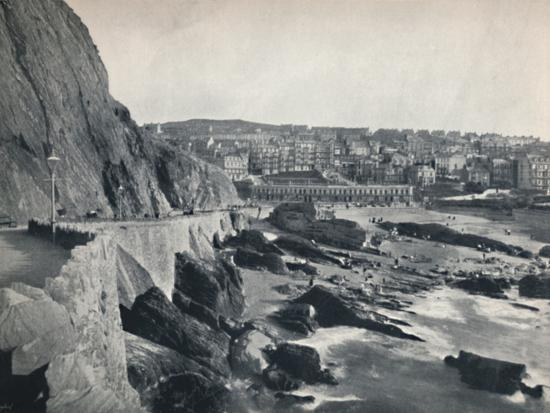 'Ilfracombe - General View, Showing Capstone Parade', 1895-Unknown-Photographic Print