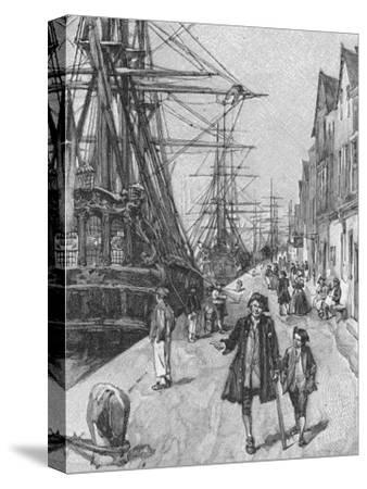 Ill. from Treasure Island by Robert Louis Stevenson