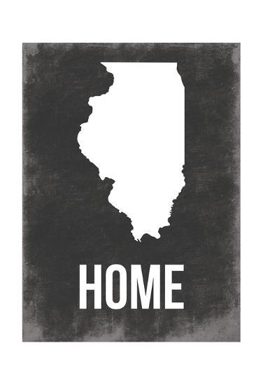 Illinois Home-Jace Grey-Art Print