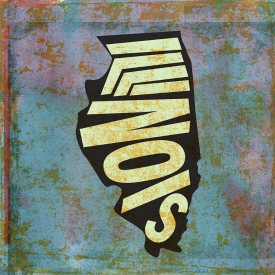 Illinois-Art Licensing Studio-Giclee Print