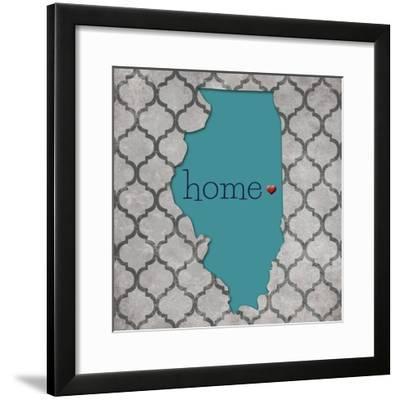 Illinois-N. Harbick-Framed Art Print