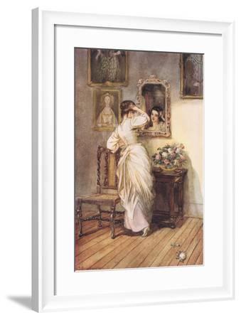 Illuminating.....The Dusky Mirror-Hugh Thomson-Framed Giclee Print