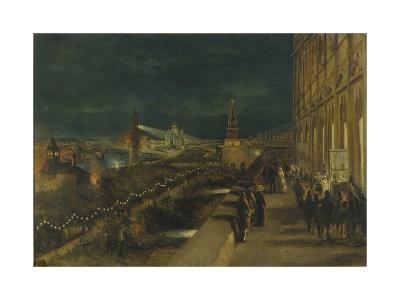 Illumination of Moscow on the Occasion of the Coronation of Emperor Alexander III-Nikolai Yegorovich Makovsky-Giclee Print