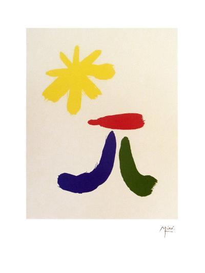 Illustrated Poems-Parler Seul-Joan Mir?-Art Print