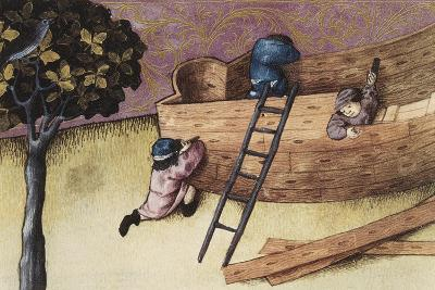 Illustration About the Teak Tree--Art Print