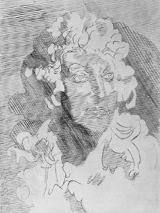 Illustration du Cantique spirituel de Jean Racine par Jean Villon