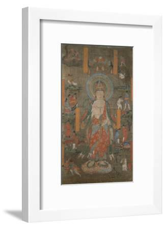 """Illustration du """"Sutra de Guanyin""""--Framed Giclee Print"""