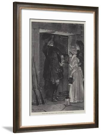 Illustration for a Colonel of the Empire-Richard Caton Woodville II-Framed Giclee Print