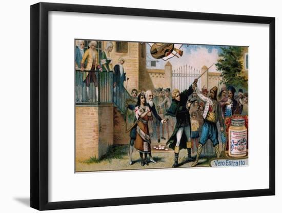 Illustration for Act I, Scene VI of Mignon-Charles Louis Ambroise Thomas-Framed Giclee Print