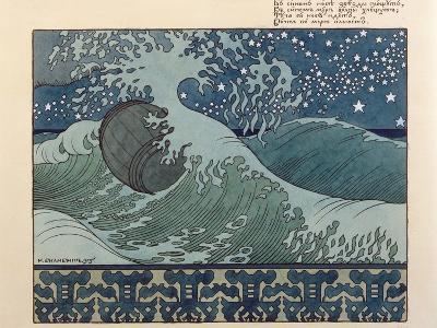 Illustration for Alexander Pushkin's 'Fairytale of the Tsar Saltan', 1905-Ivan Bilibin-Giclee Print