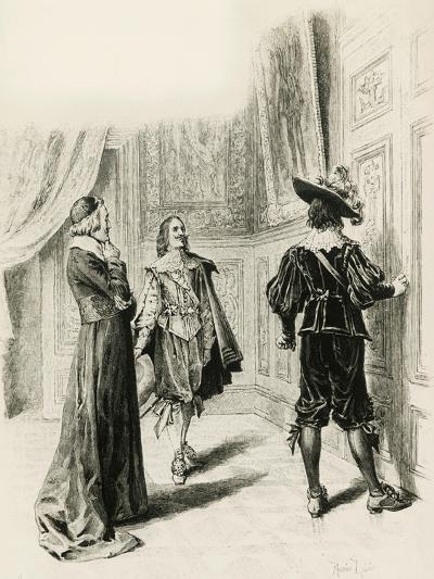 Illustration for Chapter XV, Three Musketeers-Alexandre Dumas-Giclee Print