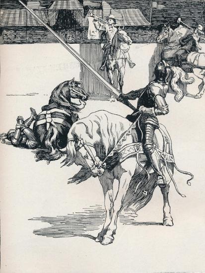 'Illustration for Ivanhoe by Anonymous', c1898-Unknown-Giclee Print