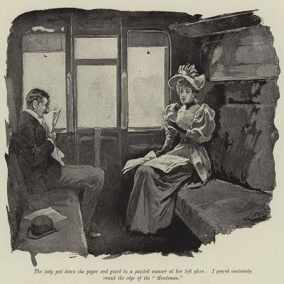 Illustration for Just a Short Story-Gordon Frederick Browne-Giclee Print