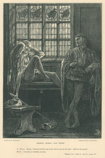 Illustration for King Henry IV, Part I-Frederick Barnard-Giclee Print