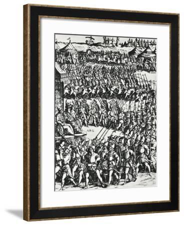 Illustration for La Gerusalemme Liberata--Framed Giclee Print