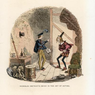 Illustration for Nicholas Nickleby-Hablot Knight Browne-Giclee Print