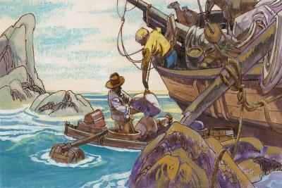Illustration for Swiss Family Robinson--Giclee Print