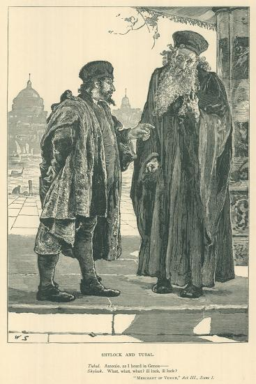 Illustration for the Merchant of Venice--Giclee Print