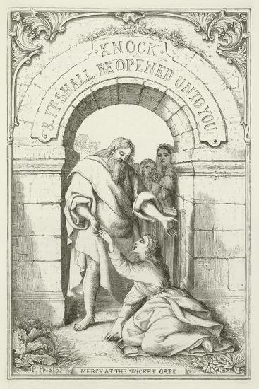 Illustration for the Pilgrim's Progress--Giclee Print