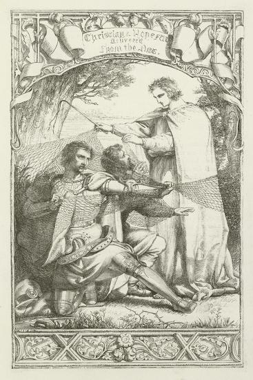 Illustration for the Pilgrim's Progress-Henry Courtney Selous-Giclee Print