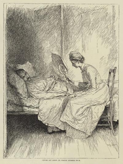 Illustration for the Story of a Nurse-Mary L. Gow-Giclee Print
