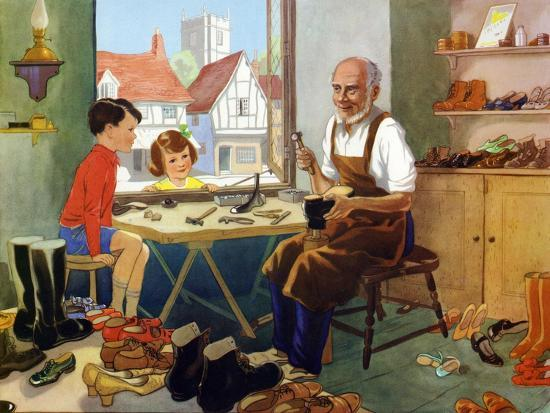 Illustration from a Children's Book, 1950s--Giclee Print