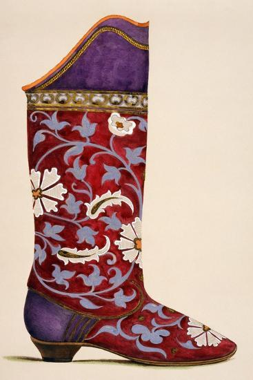 Illustration from a Portfolio of Watercolours of Shoes--Giclee Print